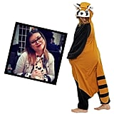 """@FleurFine Red Panda Onesie ($64) """"I don't think it would be an ideal start to the holiday season to break into London Zoo to have a cuddle with a real Red Panda. It would probably end with a not-so-flattering prison issue ensemble. I want this adorable onesie to help me hibernate through the post Christmas blues!"""""""