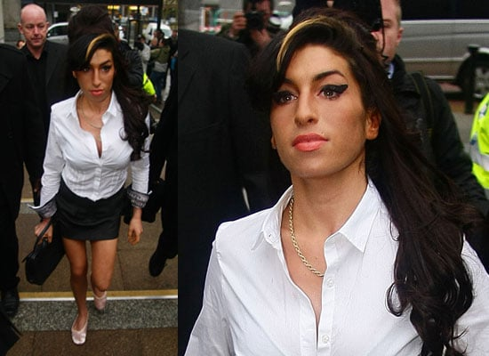 Photos of Amy Winehouse at Court