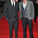 "Liam Hemsworth = 6'3"", Chris Hemsworth = 6'3"""
