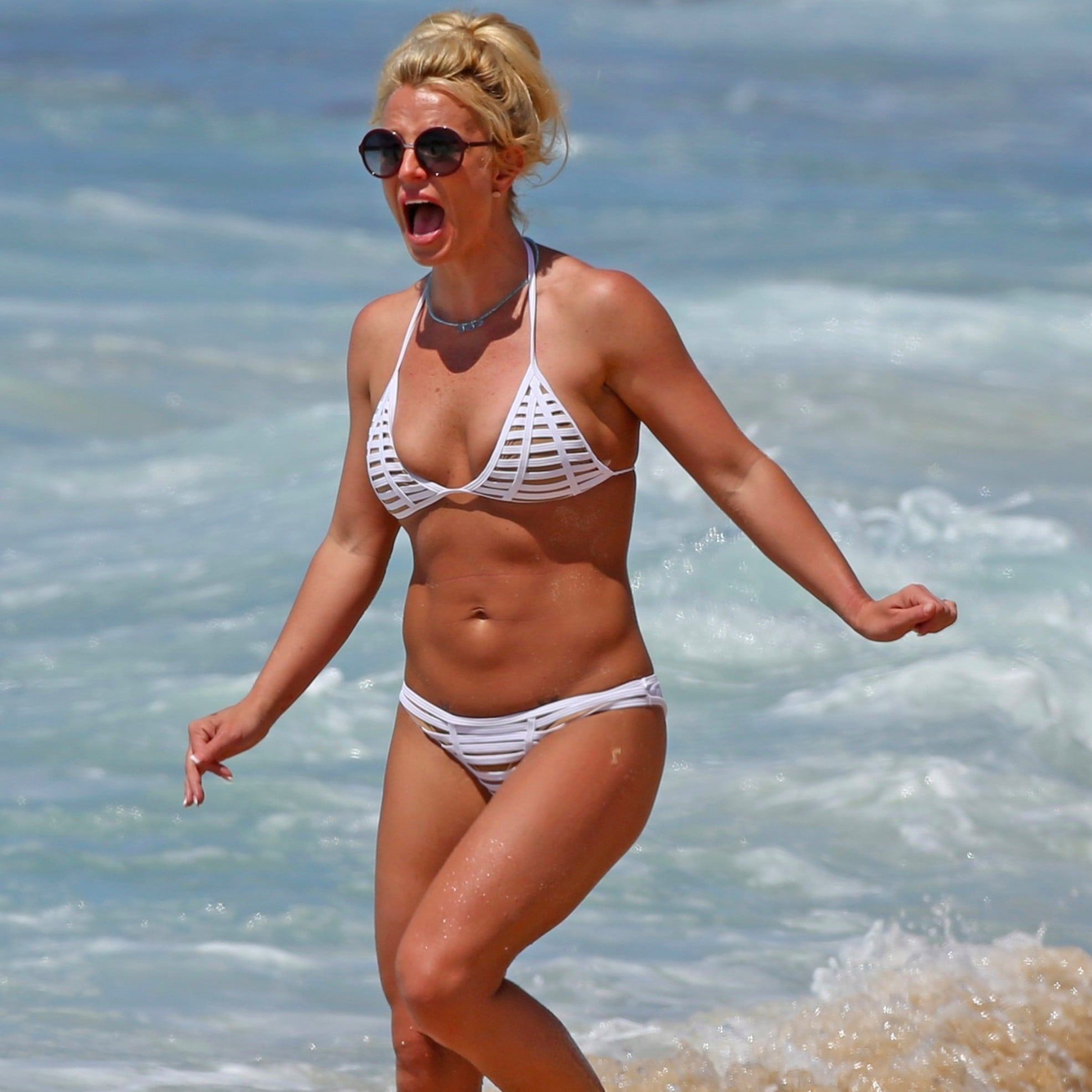 Britney spears bikini right! seems