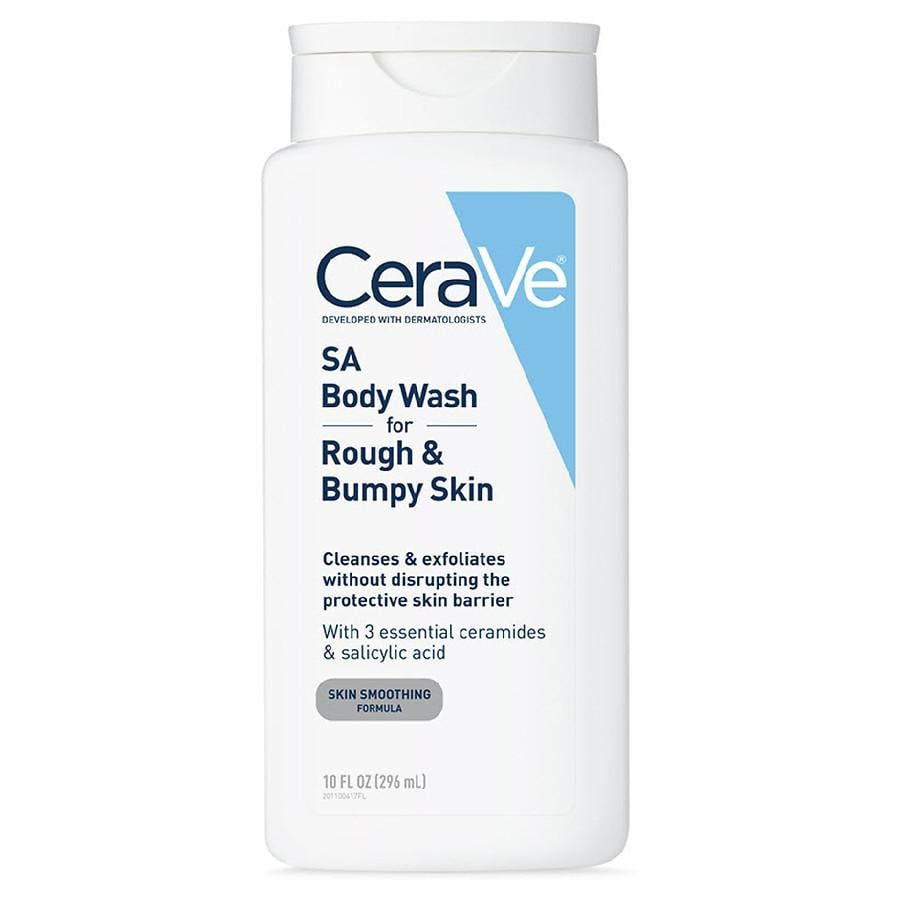 CeraVe SA Body Wash for Rough and Bumpy Skin