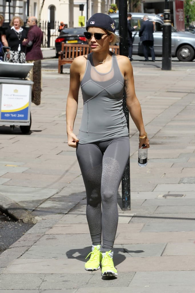 Celebrities Working Out & Delta Goodrem Exercise ...