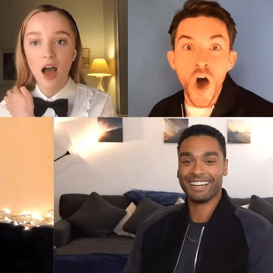 Bridgerton Cast Video Interview
