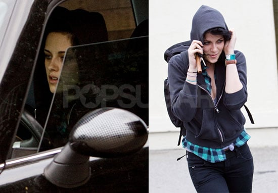 Photos of Kristen Stewart Working on The Runaways Where She Will Play Joan Jett