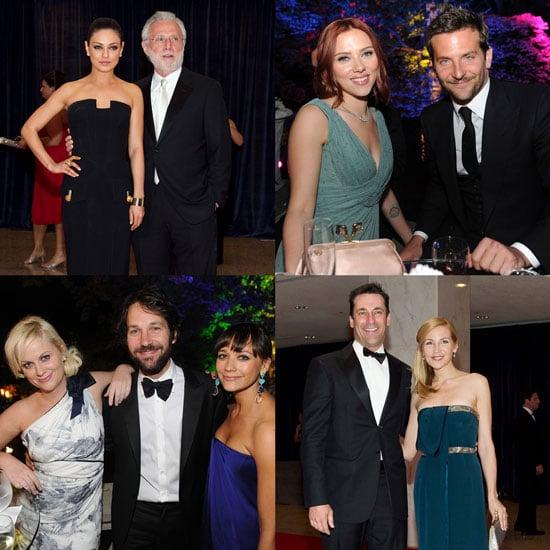 Scarlett Johansson and Sean Penn Pictures at White House Correspondents' Dinner 2011-05-02 05:59:00