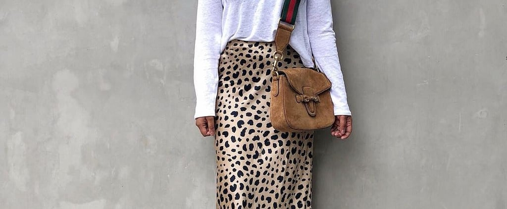 Bias Cut Satin Skirt Trend