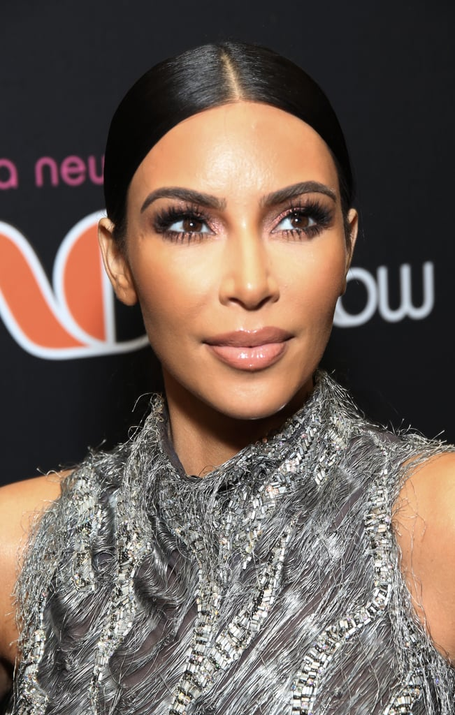 Kim Kardashian French Tips 2019
