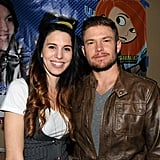 Christy Carlson Romano and Brendan Rooney