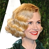 January Jones: Oscars Hair