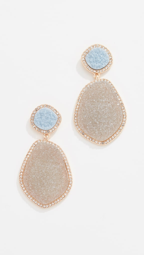 BaubleBar Vina Druzy Earrings