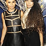 Lisa supported her daughter at the launch of Zoë Kravitz for Swarovski in NYC in March 2013.