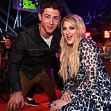 Nick Jonas and Meghan Trainor