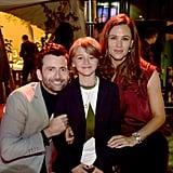 Pictured: David Tennant, Duncan Joiner, and Jennifer Garner