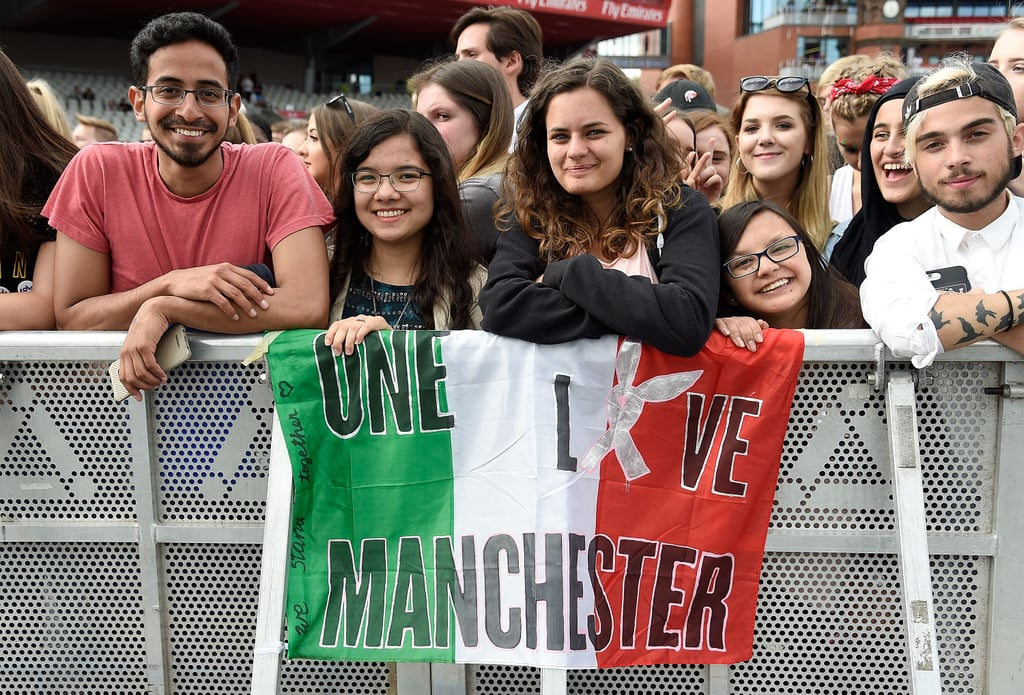 Ariana Grande's Manchester Benefit Concert Pictures