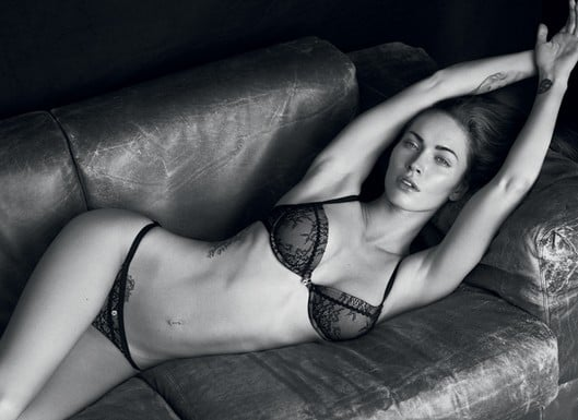 Armani Debuts Some Seriously Sexy Ads With Megan Fox and Rafael Nadal