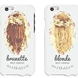Brunette and Blonde Besties
