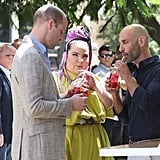 Prince William Meeting Eurovision Winner, Netta Barzilai