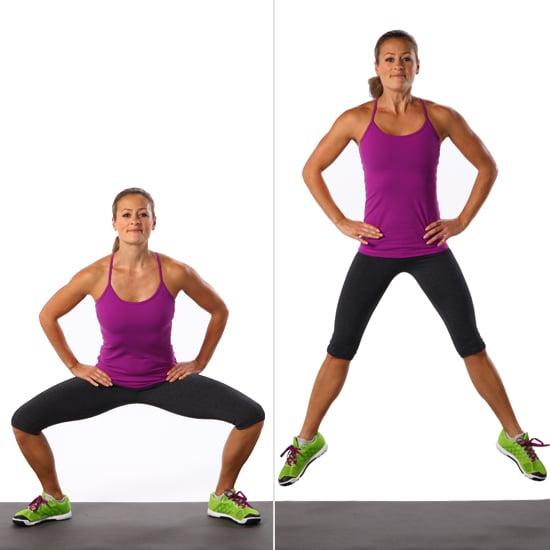 Circuit 1, Exercise 6: Sumo Squat Jump