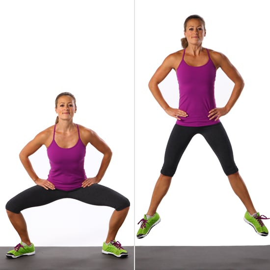 Sumo Squat Jump | Best Leg Exercises | POPSUGAR Fitness ...