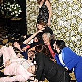 Abgebildet: Kathryn Hahn, Jill Soloway, Carrie Brownstein, Gaby Hoffmann, and Jay Duplass