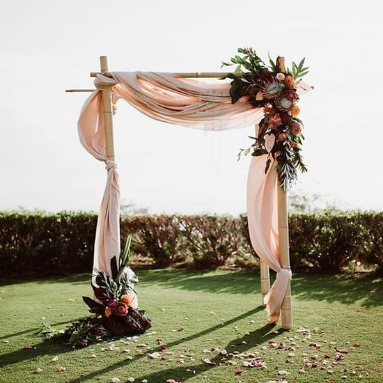 Beautiful Floral Wedding Arch Inspiration