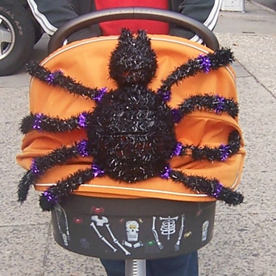 Stroller Halloween Decorations