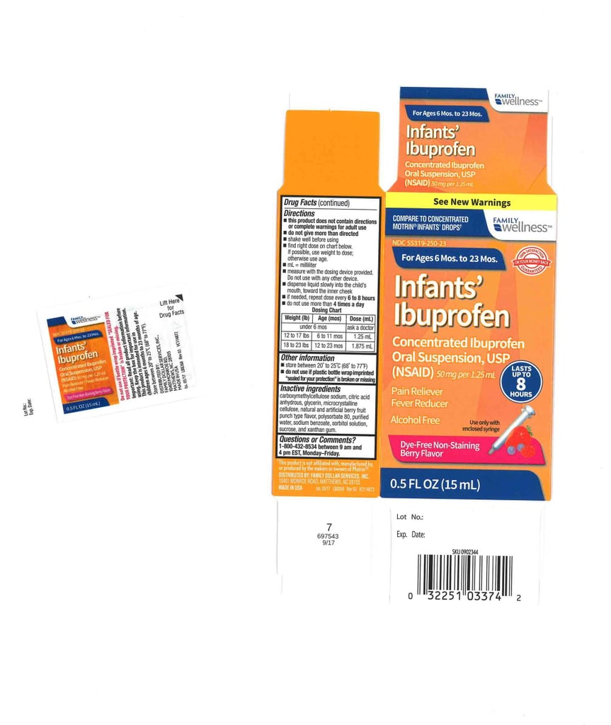 Family Wellness Infant's Ibuprofen