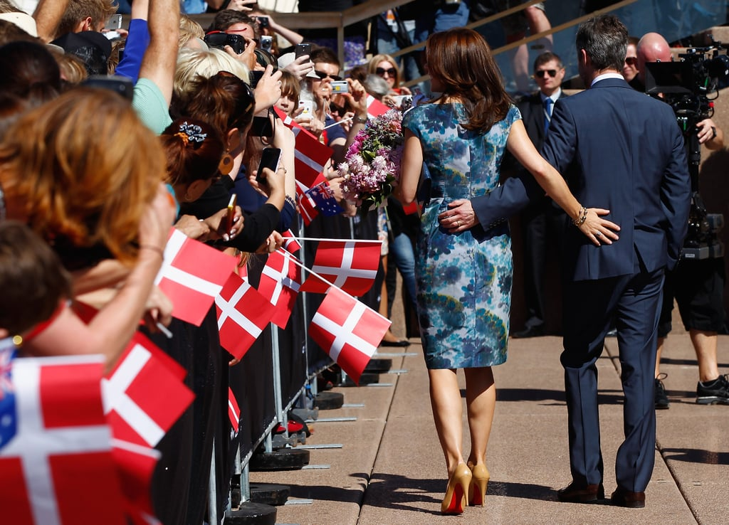 Princess Mary Loves Her Red-Soled Shoes