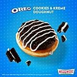 Krispy Kreme Cookie Doughnuts 2018