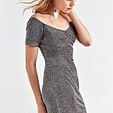 Shimmer Knit Minidress