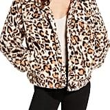 BLANKNYC Cozy Teddy Trucker Jacket