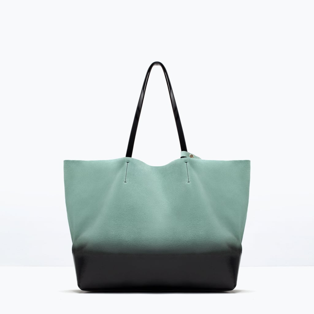 Zara Ombre Leather Shopper Bag ($60)