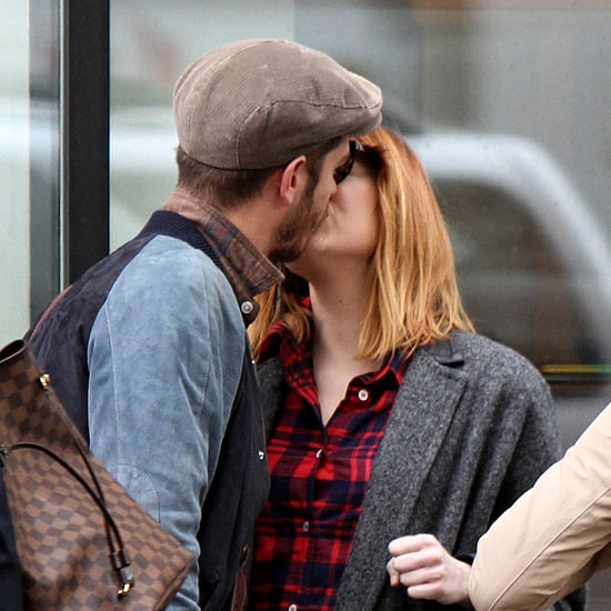 Emma Stone and Andrew Garfield in NYC | May 2014