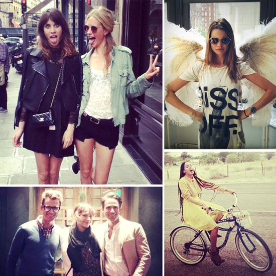 Pictures of Celebrities and Models on Twitter July 12, 2012