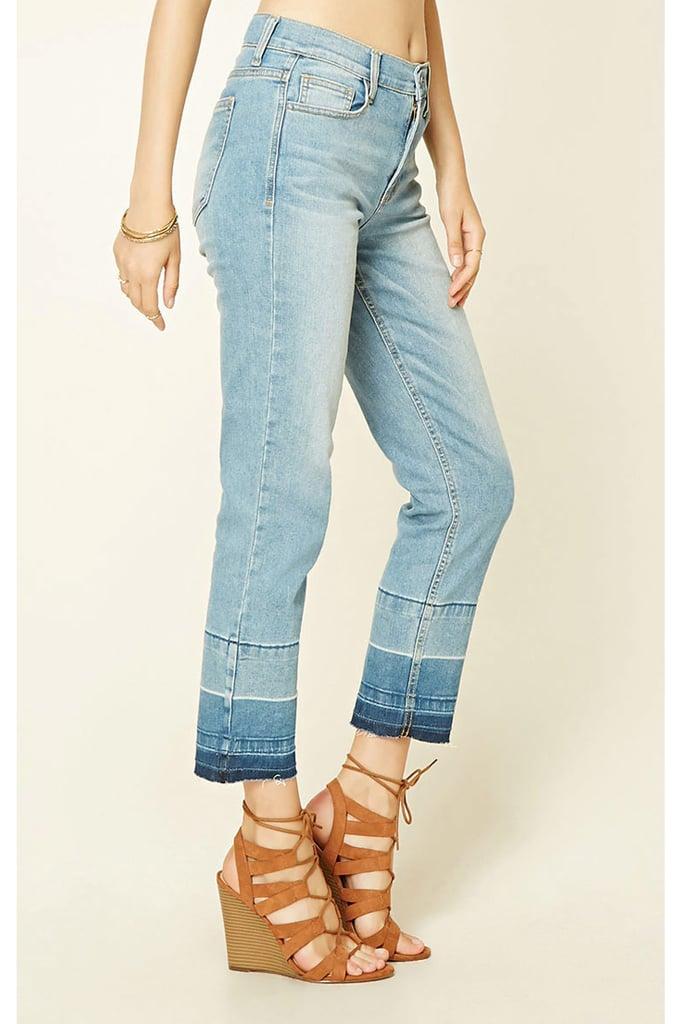 Forever 21 Gradient Denim Pants ($20)