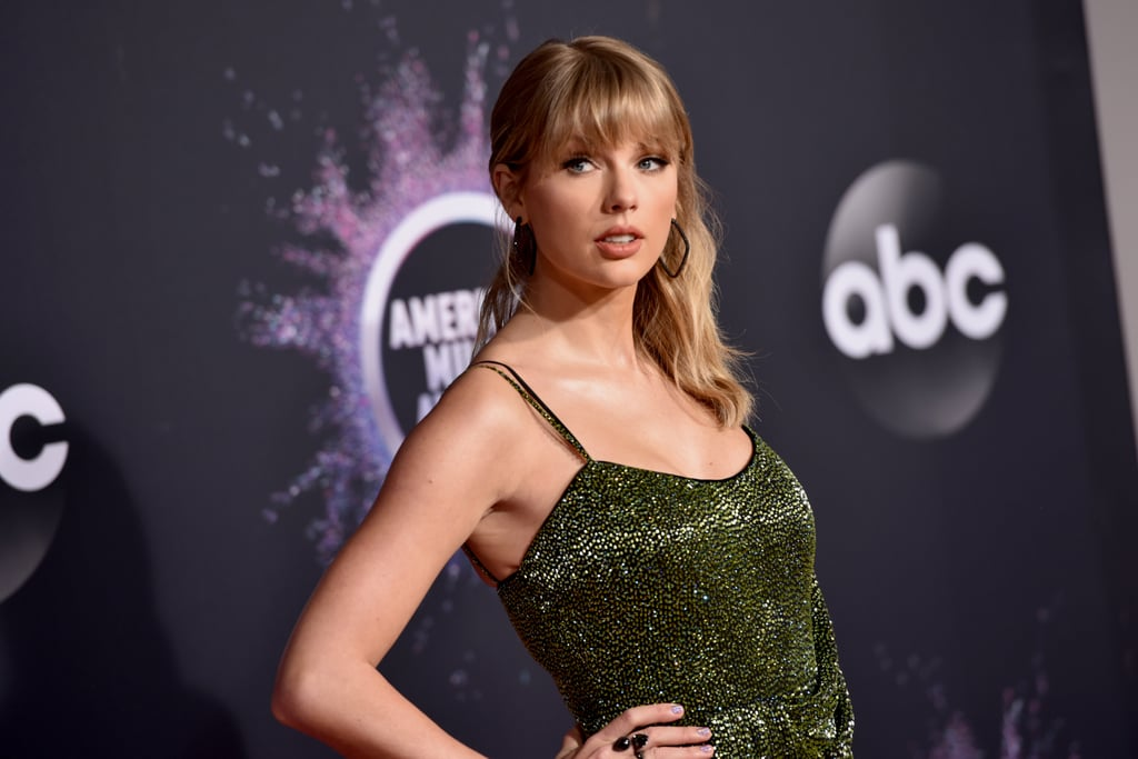 "Taylor Swift was the guest of honor at the American Music Awards on Sunday night. The ""Lover"" singer, who recieved the artist of the decade award during the show, looked absolutely stunning as she hit the red carpet in sparkly green dress and thigh-high boots. Perhaps she and BFF Selena Gomez planned their outfits together? In addition to her big award, Taylor is also set to perform during the show. Although, it's unclear if she will sing any of her past hits following the drama between her and her previous record label, Big Machine Records. Earlier this month, Taylor gave fans an update on her ongoing feud with Scott Borchetta and Scooter Braun, claiming that they wouldn't give her permission to perform her older hits due to legal issues. Something tells us Taylor will use the AMAs as an opportunity to make another statement about the controversy.       Related:                                                                                                           Taylor Swift Always Has the Most Fun at the American Music Awards, and We Have Receipts"