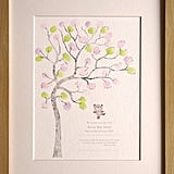 Mini Ink Finger Print Tree