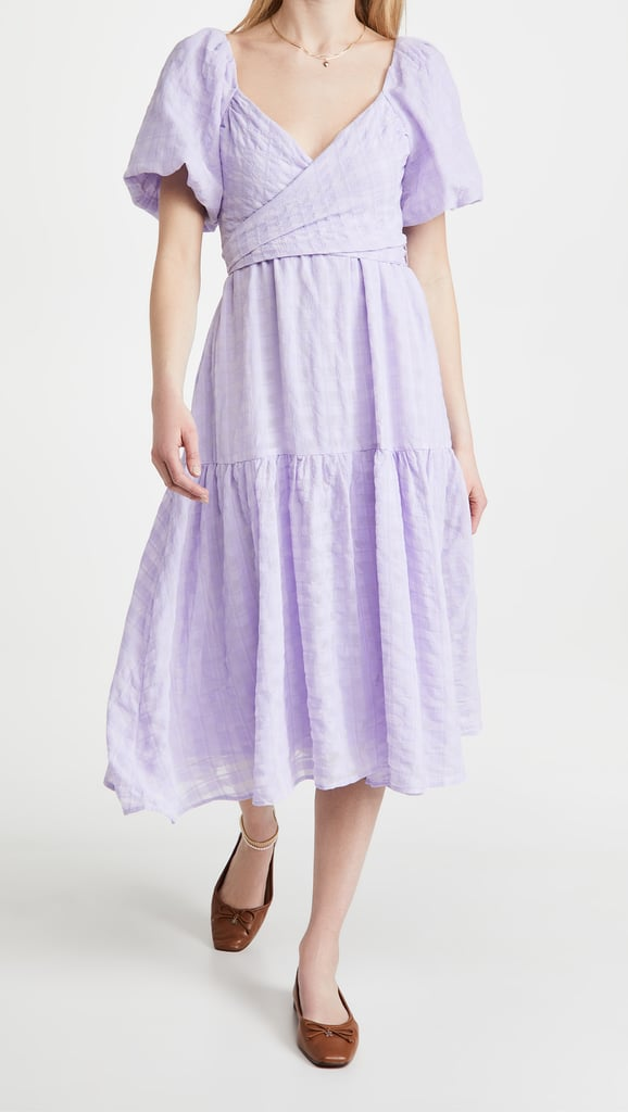 Purple Bridesmaid Dress: ASTR the Label Sonnet Dress