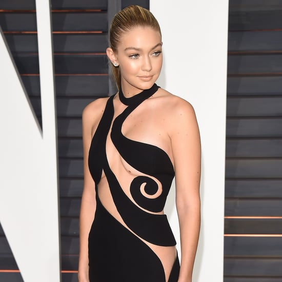 Gigi Hadid Dress at Oscars Afterparty 2015