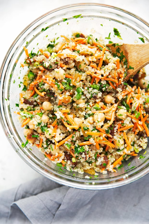 Moroccan Chickpea Power Salad