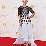 Kelly Osbourne in an Honor NYC Dress and Aldo Shoes at the 2014 Emmy Awards