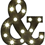 Dot & Bo Ampersand Marquee ($78)