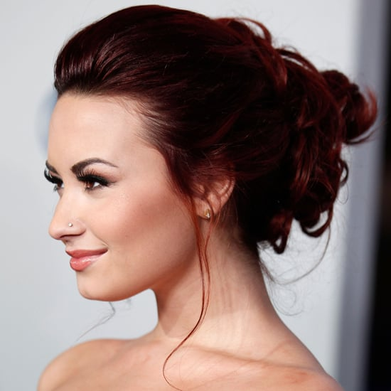 Demi Lovato's Beauty Look at the 2012 People's Choice Awards