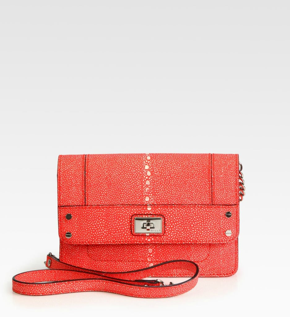 Milly's Madison Stingray Embossed Mini Shoulder Bag ($184, originally $245) will add just the right amount of sparkle to your evening ensembles.