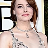 Emma Stone a Utilisé un des Soins les Plus Populaires du Moment Pour se Préparer Pour les Golden Globes