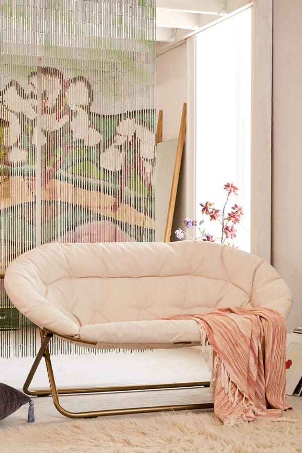 Basic 2-Seat Papasan Chair