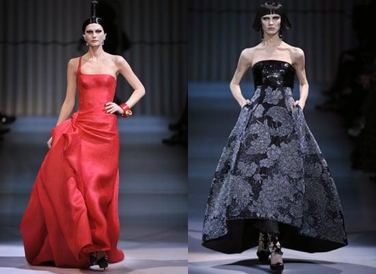 2009 Spring Couture: Armani Privé