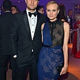 Joshua Jackson and Diane Kruger attended the Haiti: Carnival in Cannes event.