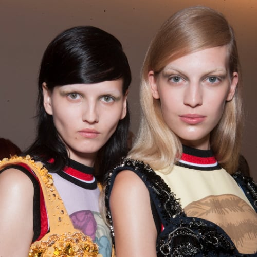 Prada Spring 2014 Hair and Makeup | Runway Pictures