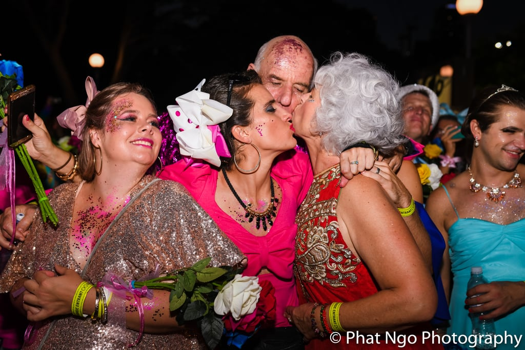Mardi Gras Wedding 2018
